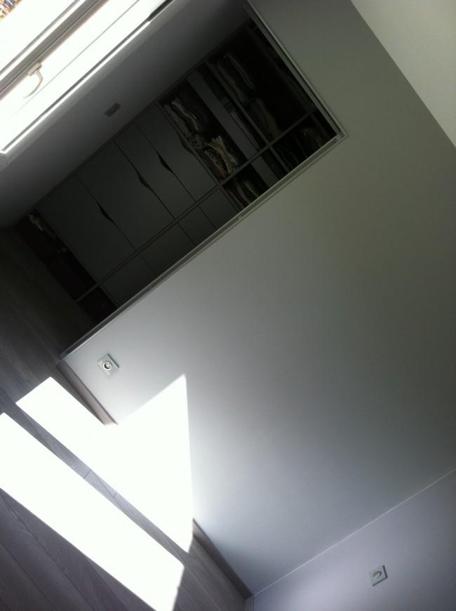 Transformation dun garage en chambre à coucher