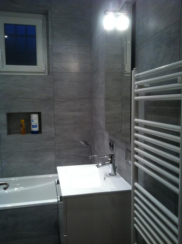 R fection de salles de bains partie 2 - Cout refection salle de bain ...