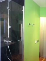 Salle de bains receveur ardoise
