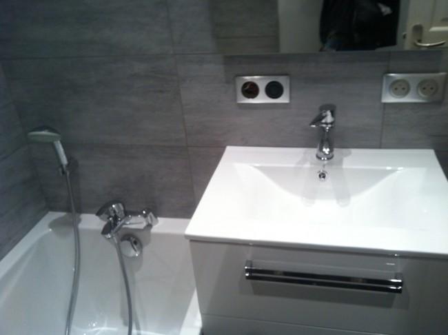 R fection de salles de bains partie 2 - Refection salle de bain ...
