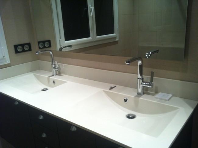 Salle de bains - vraie douche à l'italienne