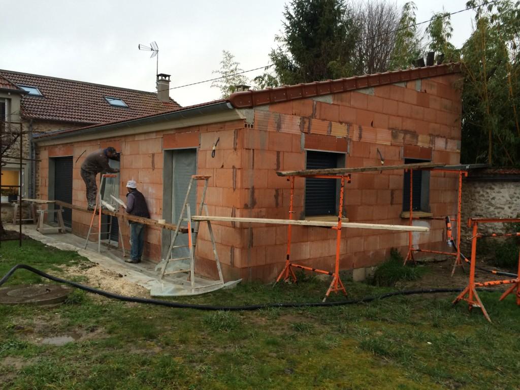 Agrandissement d 39 une maison existante 65m2 for Avis sur la maison des travaux