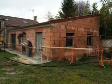 Agrandissement d'une maison existante