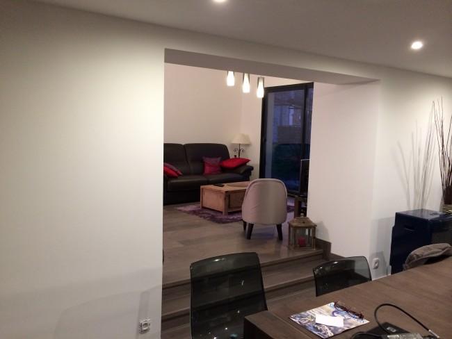 Aménagements intérieurs d'une maison neuve