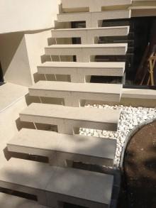 Création d'escaliers extérieurs