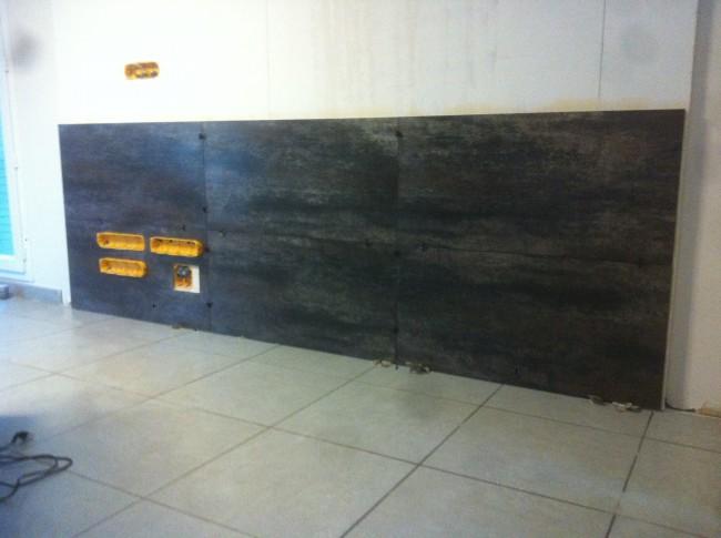 Préparation et pose d'un poêle à bois