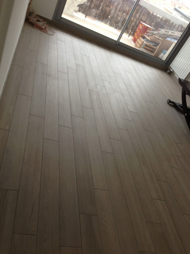 pose de carrelage facon parquet With carrelage facon parquet