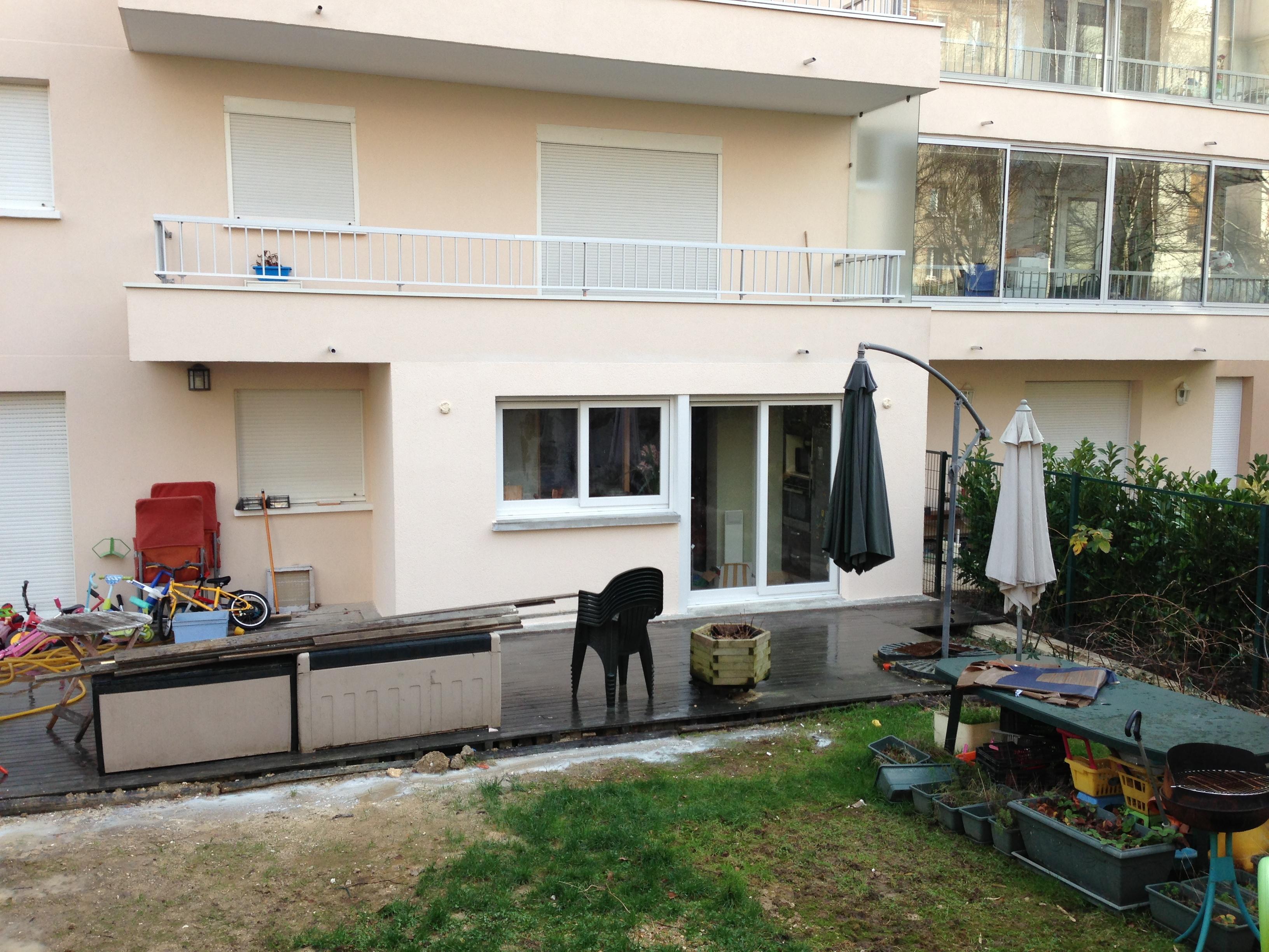 Transformation d 39 un balcon d 39 appartement en cuisine - Transformation cuisine ...