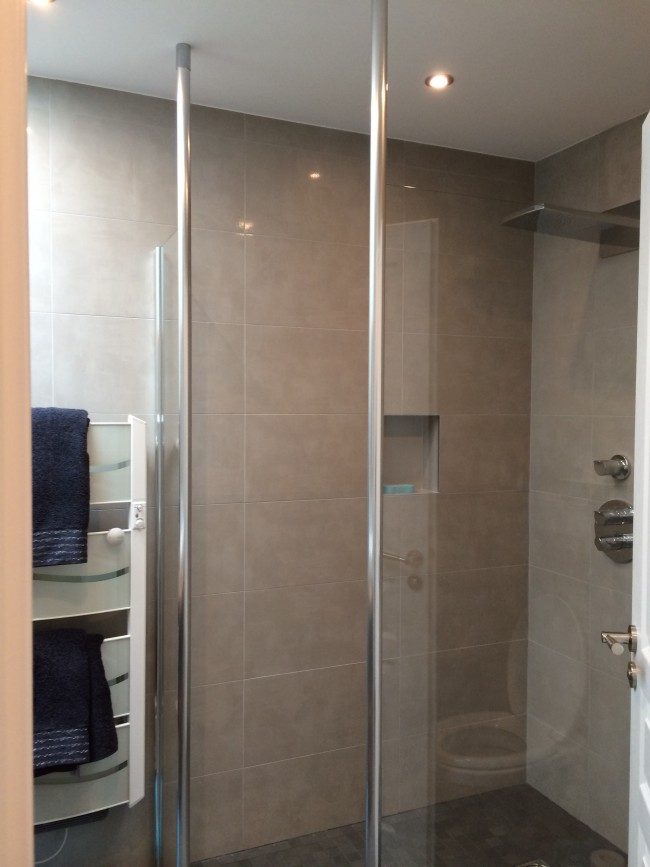 r novation d 39 une salle de bain tournan en brie. Black Bedroom Furniture Sets. Home Design Ideas