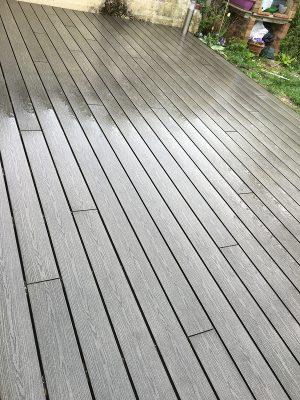 Réalisation d'une Terrasse en Bois Composite à Noisiel