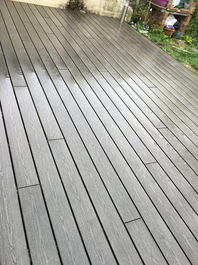 Plancher en bois composite noisiel 77 for Plancher composite exterieur